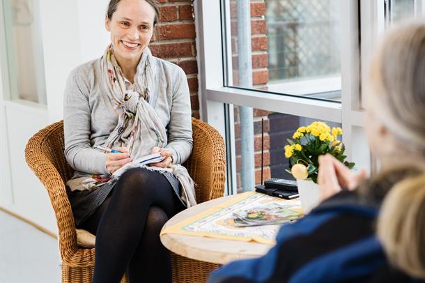 Nærbilde av overlege alderspsykiatri