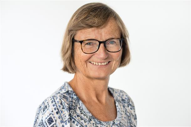 Portrett av Hilde Berner Hammer