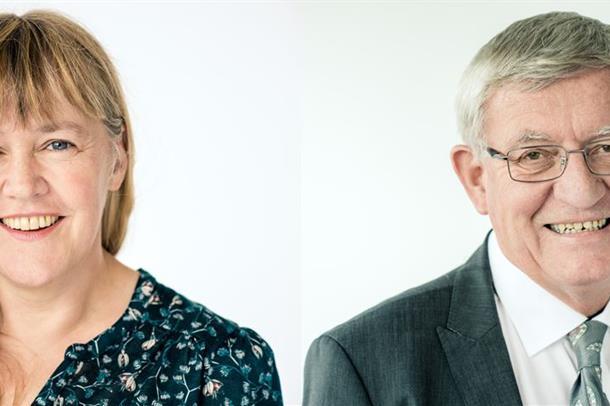 Portrett av Goll og Kvien