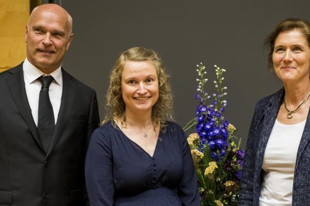 Professor Jan Schjøtt, Ph.d Caroline Gjestad og professor Ylva Böttiger
